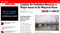 Time | London Air Pollution | May 2016